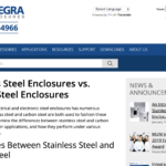 Integra Enclosures Website
