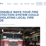 Frontier Fire Website